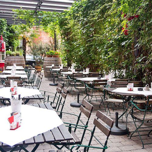 "Austrian cuisine in the restaurant ""Zur Fabrik"""